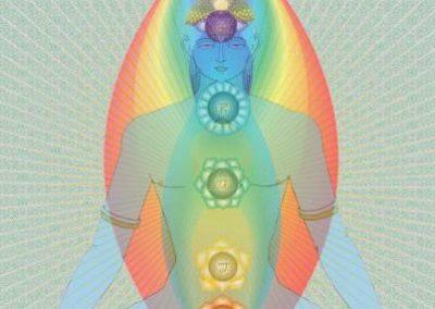 Голограмма Небесных Чакр/ Hugo Tobar / Celestial Chakra Hologram